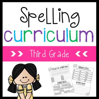 Spelling Curriculum {Full Year}