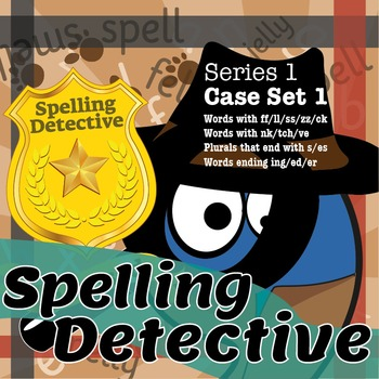 Spelling Detective: Series 1: Case Set 1