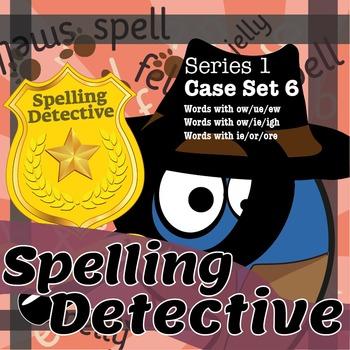 Spelling Detective: Series 1: Case Set 6