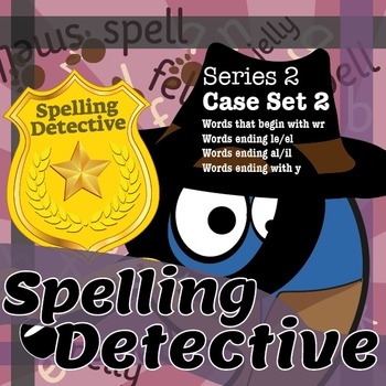 Spelling Detective: The SPaG Game: Series 2: Case Set 2