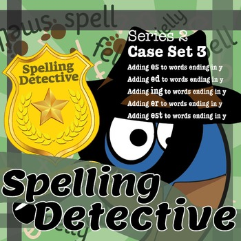 Spelling Detective: The SPaG Game: Series 2: Case Set 3