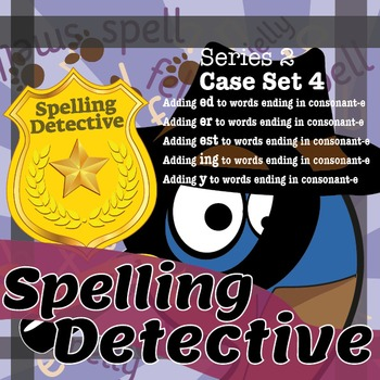 Spelling Detective: The SPaG Game: Series 2: Case Set 4