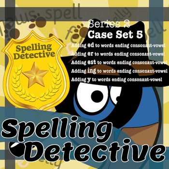 Spelling Detective: The SPaG Game: Series 2: Case Set 5