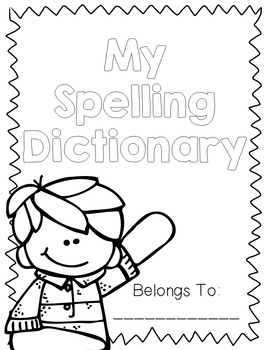 Spelling Dictionary {EDITABLE}