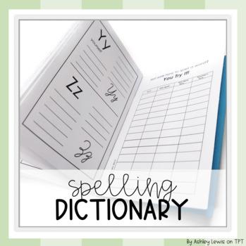 Spelling Dictionary for Upper Elementary