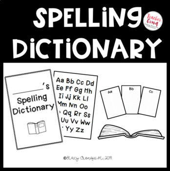 Spelling Dictionary BOOKLET!