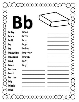 Spelling Dictionary For Words to use when writing In The Common Core Classroom