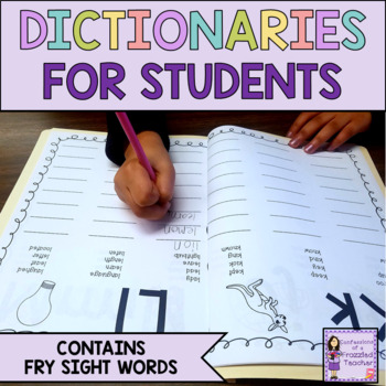 Spelling Dictionary Super Bundle (Over 100 Pages of Materials)