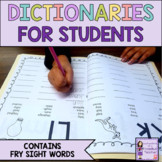 Student Dictionary: Spelling Words Super Bundle (over 100 pages)