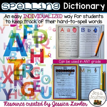 Spelling Dictionary for Any Grade