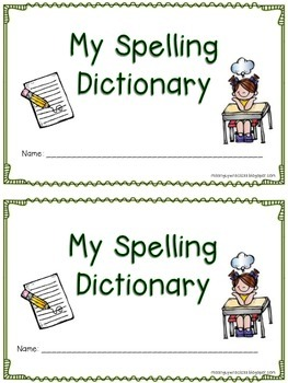Spelling Dictionary for Primary Grades