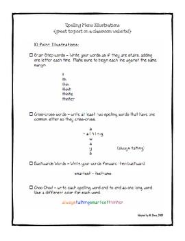 Spelling Differentiation