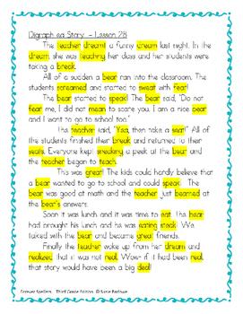 Spelling - Digraph ea - 3 Sounds - 3rd Grade