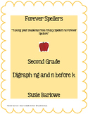 Spelling - Digraph ng and n before (k) - 2nd Grade