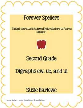 Spelling - Digraphs ew, ue, and ui - 2nd Grade