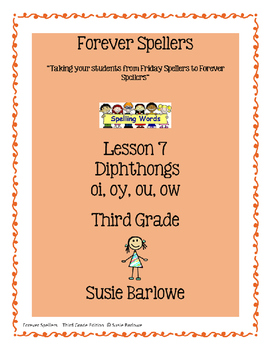 Spelling - Diphthongs oi/oy and ou/ow - 3rd Grade