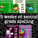 Spelling- Easter, St. Patrick's- prefix, suffix, short /o/