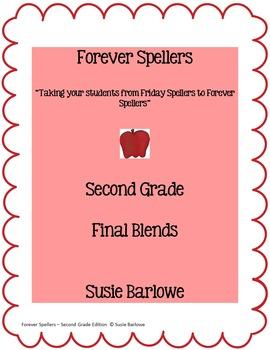 Spelling - Final Blends - 2nd Grade