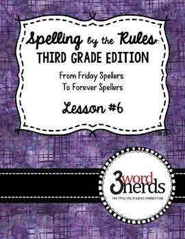 Spelling - Final Stable Syllables - Third Grade