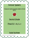 Spelling - Final (k) = ck, k, c - 2nd grade