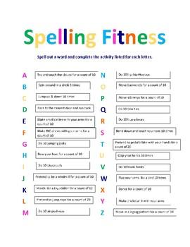 Spelling Fitness