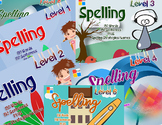 Spelling Flash Cards With Sentences- Bundle Deal PLUS 150 AWARDS