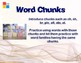 Spelling Flashcards with Sentences- Level 3
