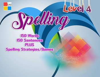 Spelling Flashcards with Sentences- Level 4