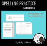 Spelling Practice Foldables