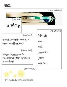 Spelling Folder Activities