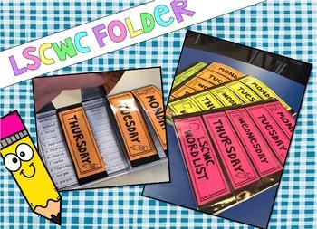 Spelling Folder - LSCWC