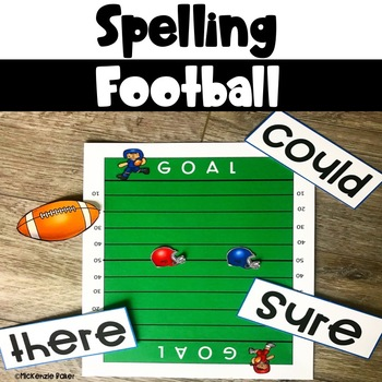 Spelling Football Game