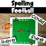 Spelling Football Game