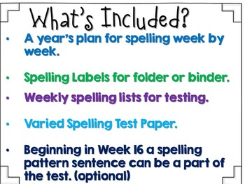 Spelling For The Year