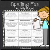 Spelling Fun Activity Board