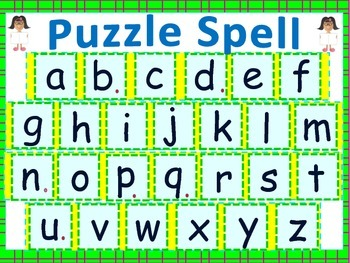 Spelling Games For Primary Literacy