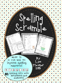 Spelling Fun - Word Scramble with Riddles