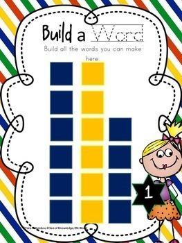 Spelling Activities Growing Bundle {Lessons 1-19+}