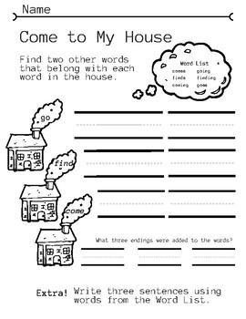 Spelling Fun Worksheets