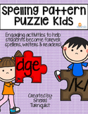Spelling Patterns & Word Building Activities with The Puzzle Kids