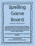 Spelling Game Board