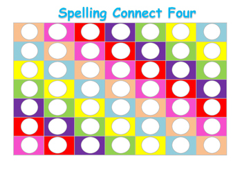 Spelling Game Connect Four