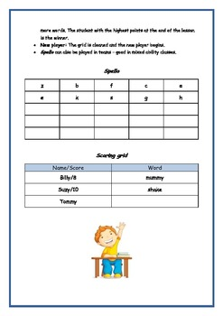 Spelling Game: How to play Spello!