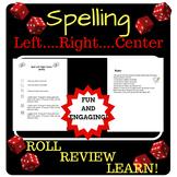 Spelling Game (Left, Right, Center) (FULLY EDITABLE)