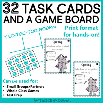 Spelling Game | Spelling Center | Spelling Activities