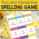 Spelling Game for Advanced Spelling Patterns | Spelling Card Game
