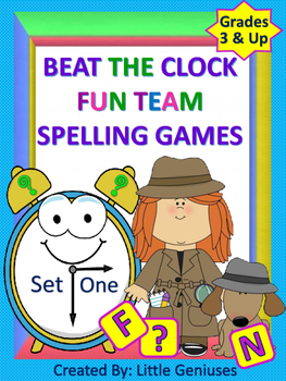 Spelling Games For Team Fun~ Beat The Clock!
