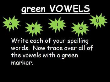 Spelling Games Powerpoint-