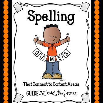Spelling Games That Connect to Content Areas