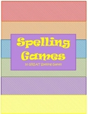 Spelling Games and Activities for your classroom